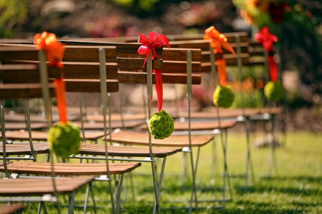 A Stylish Red, Orange and Green Mountain Wedding at Deer Valley Resort - Fab You Bliss