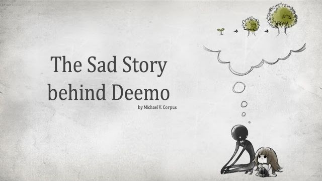 The first five songs shows how lonely Deemo is and longs to explore what the outside world looks like and learns something new.