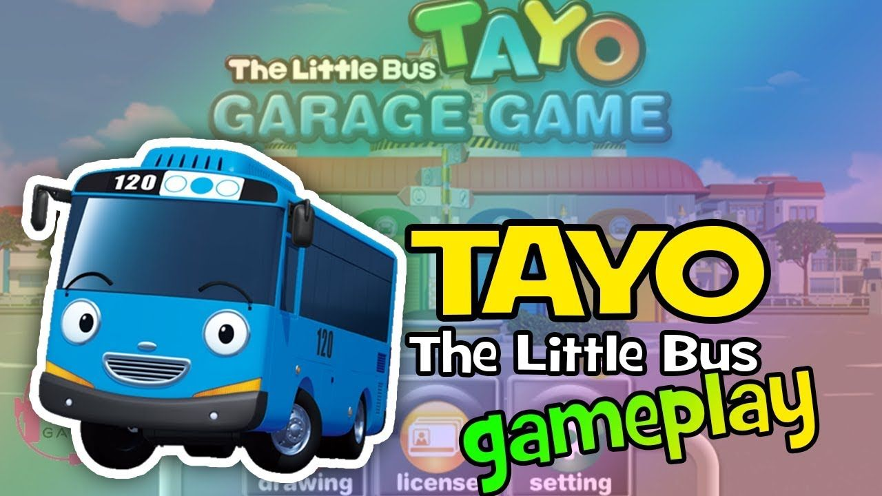 Tayo The Little Bus Garage Gameplay Tayo The Little Bus Little Bus Bus