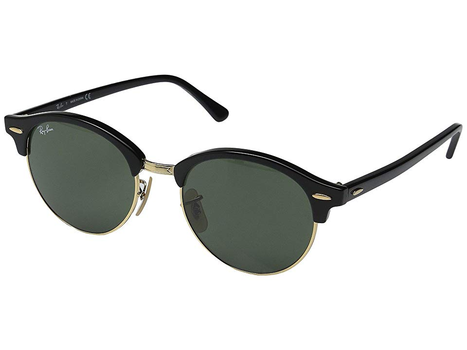 51dba5b7eccf4 Ray-Ban RB4246 51mm (Black Frame Green Lens) Fashion Sunglasses. The ...