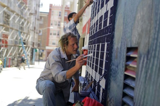 Veterans honored w/ mural project in SF Tenderloin alley: The art project is meant to honor those in uniform and encourage peaceful transition to civilian life.