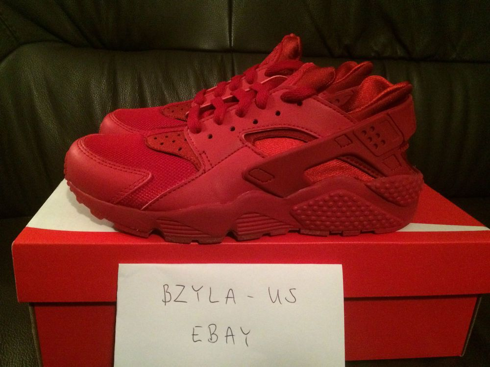 d03dad2907 ... usa nike air huarache varsity red 318429 660 multiple size men new box  triple red 89fba