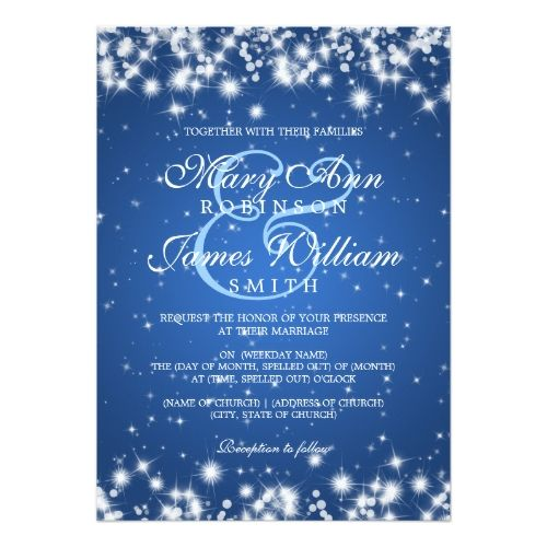 Winter Wedding Save the Date Cards Elegant Wedding Winter Sparkle – Winter Wedding Save the Dates