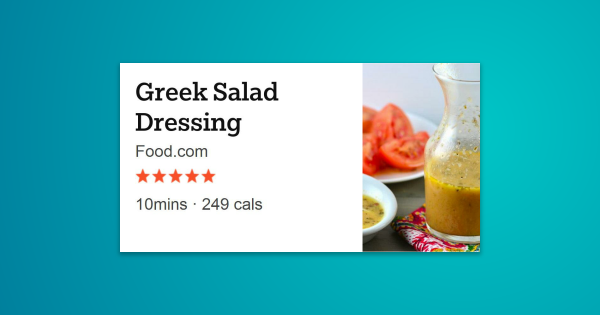 Oil-based sweet and tangy salad dressing - good with everything! Especially great with strawberry, spinach, …
