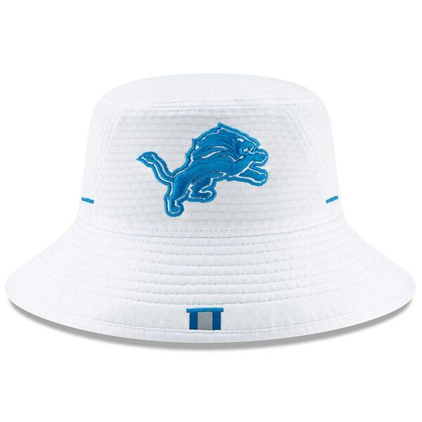 ce5e36a5a7881d Men's Detroit Lions New Era White 2019 NFL Training Camp Official Bucket Hat,  Your Price
