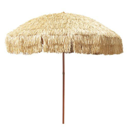 8 Foot Deluxe Tropical Island Thatched Umbrella Upf 50 Protection Perfect For Tiki Bar Beach Patio Deck Garden Restaurant Cafe Or Any Place You