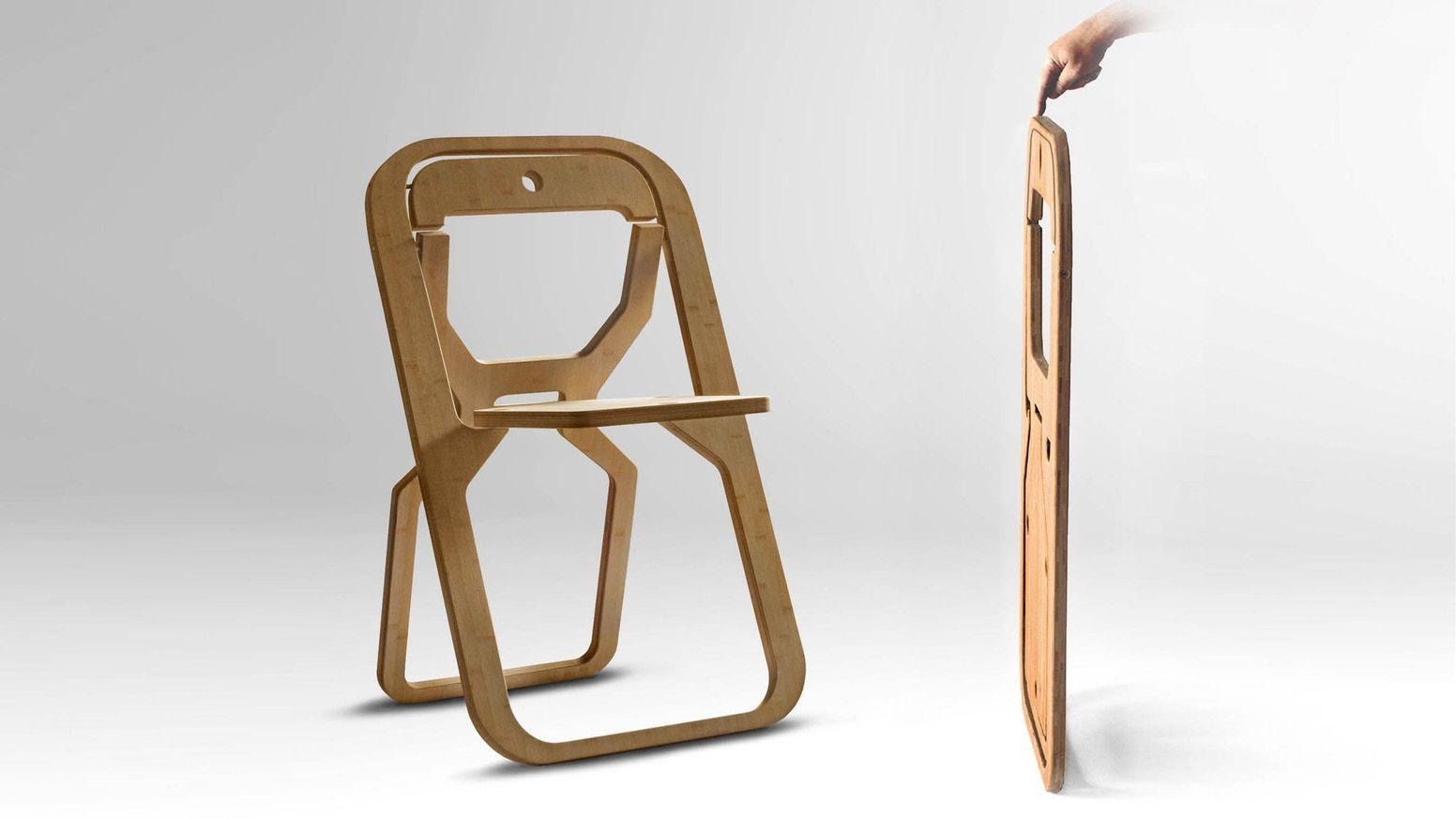 Peachy Infine Folding Chair By Desile Christian Kickstarter In Ibusinesslaw Wood Chair Design Ideas Ibusinesslaworg