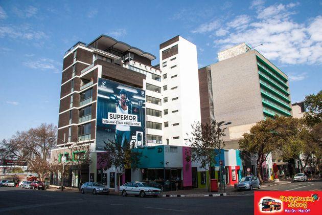 Trendy and bright 70 Juta Street. http://citysightseeing-blog.co.za/2014/08/15/colourful-and-bright-70-juta-street-johannesburg/