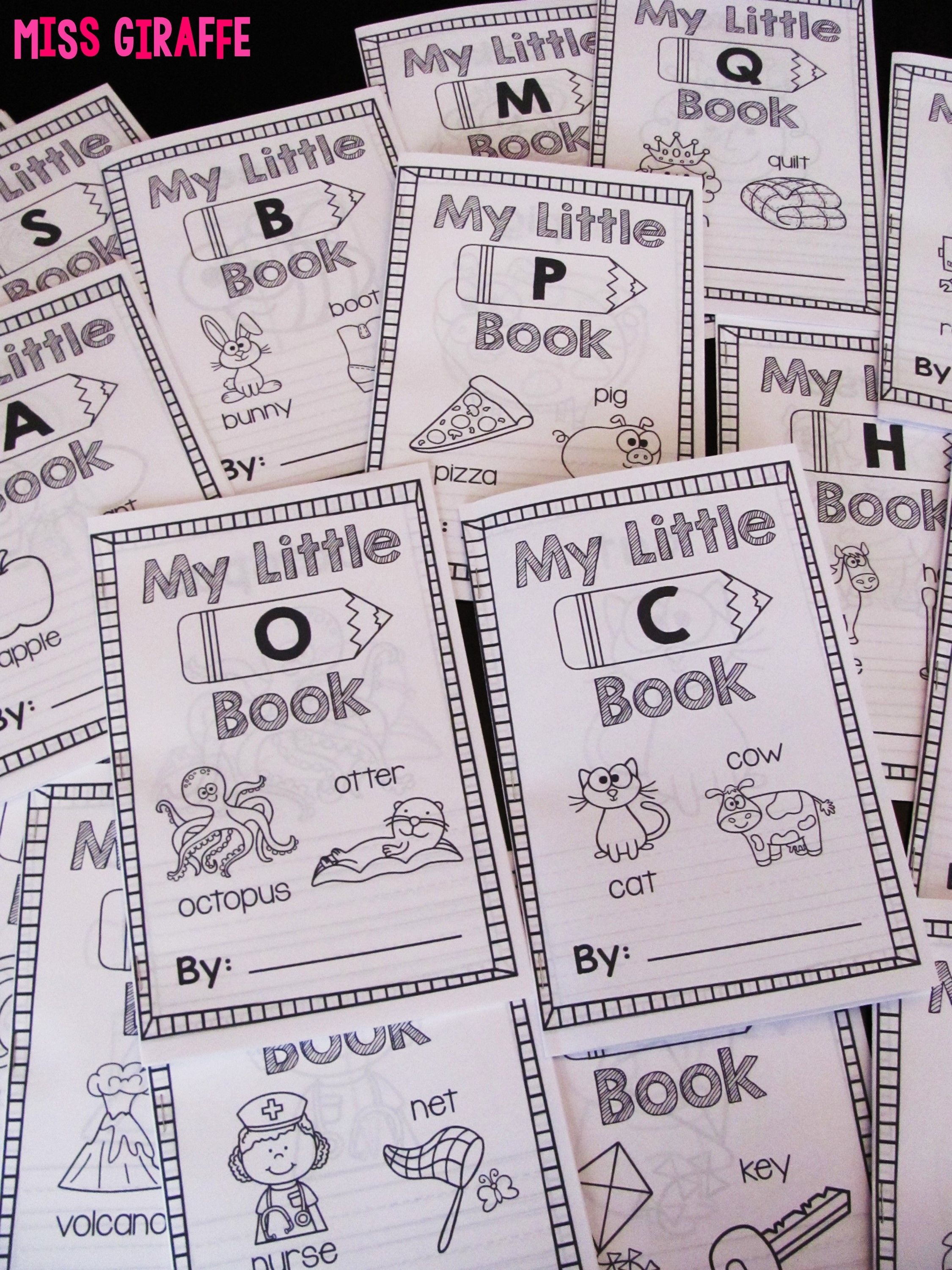 Alphabet Letters A Z Little Books Bundle