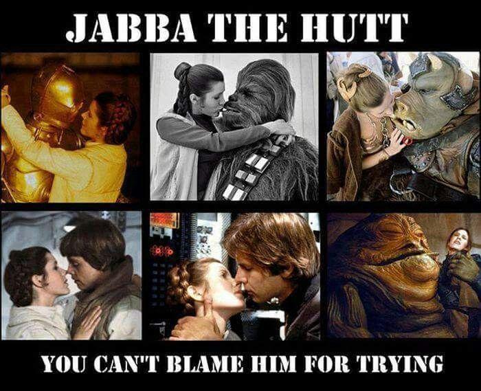 Poor Jabba Star Wars Humor Star Wars Memes Funny Star Wars Memes