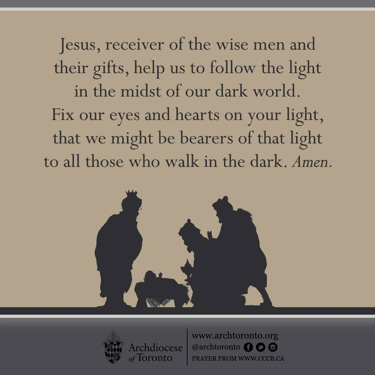 Prayer For The Feast Of The Epiphany Feastday Catholic Prayer