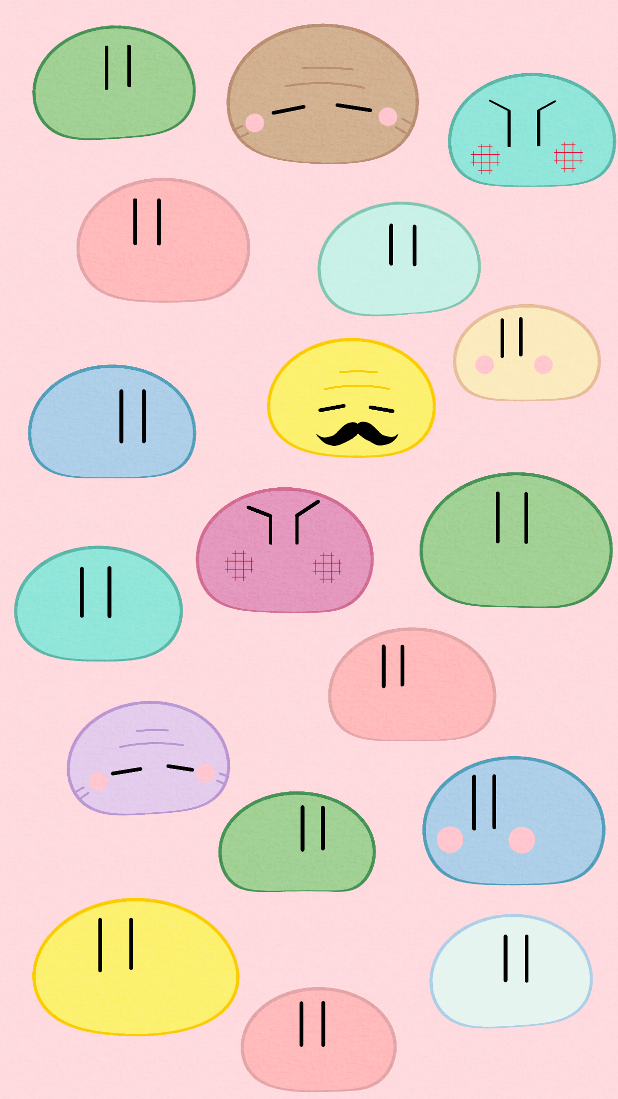 Here Is A Big Dango Family Wallpaper I Created Today It S Logo
