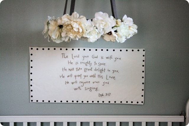 beautiful verse for a baby's room