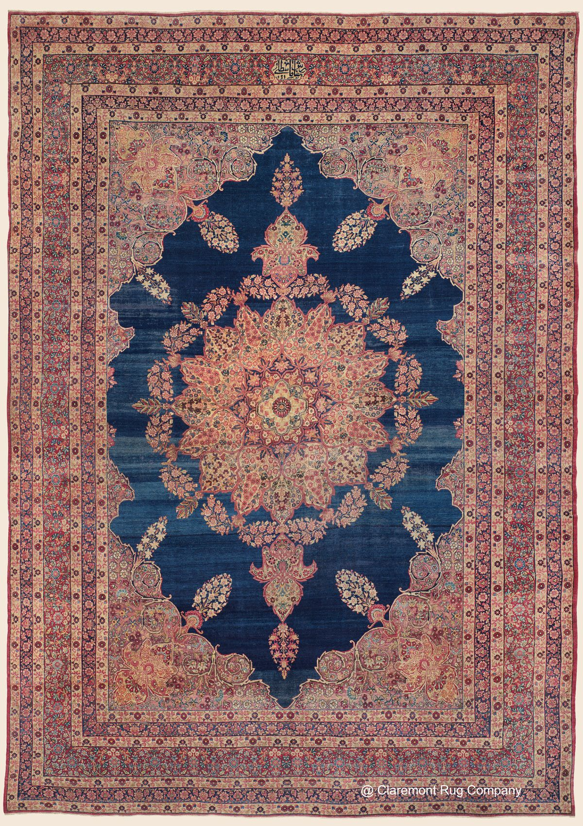 Laver Kirman Southeast Persian Antique Rug 11 8 X 16 9 Late 19th Century Claremont Rug Company Click To Lear Claremont Rug Company Rugs Rugs On Carpet