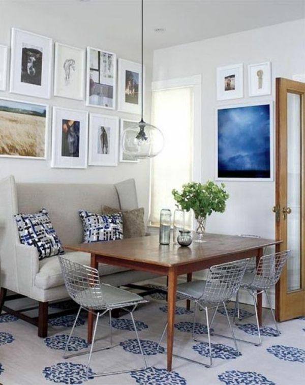 essecke gestalten 20 wunderschne gemtliche ideen fr ihre moderne deko kleine rume einrichten - Kleines Wohnzimmer Mit Essbereich Einrichten