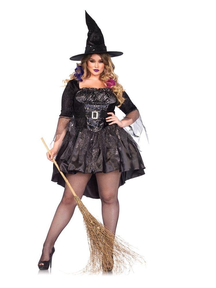 Black magic mistress adult womens plus size costume