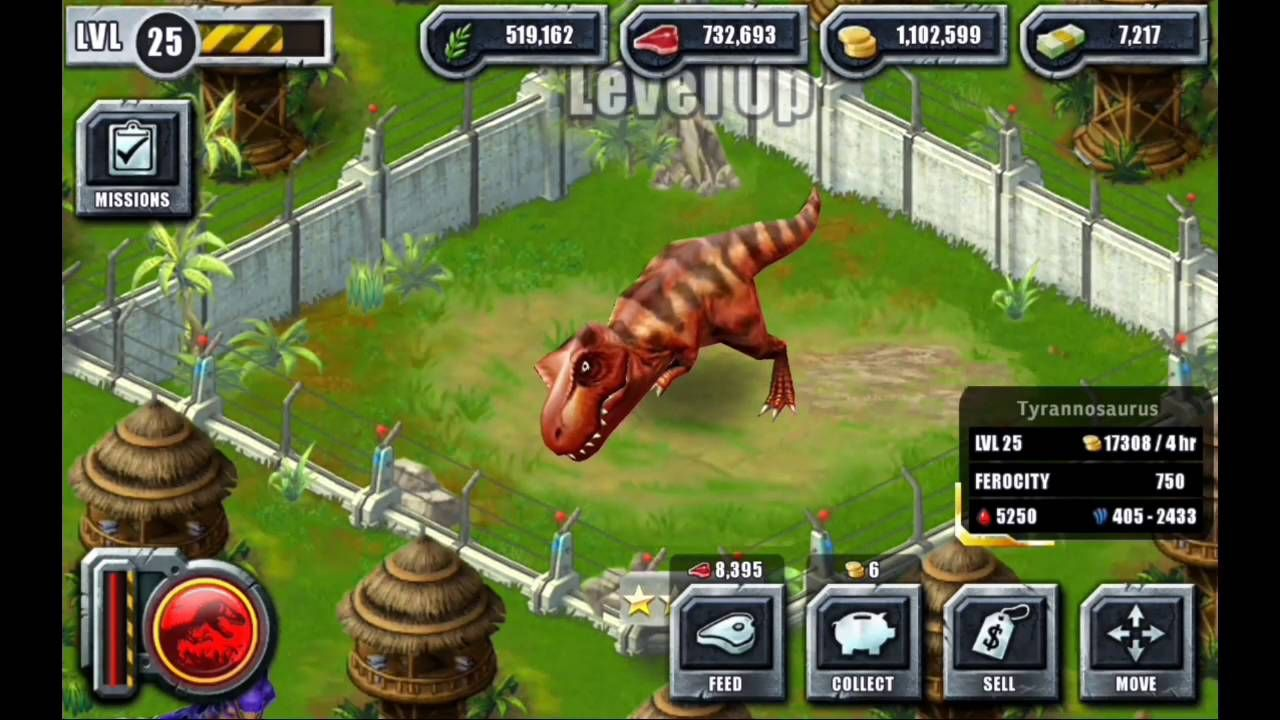Jurassic Park Builder Hack - Free Bucks, Coins, Meat and