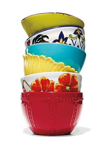 These Bold Ceramic Bowls, Found At #marshalls, Are An Awesome Touch To Any  Kitchen!