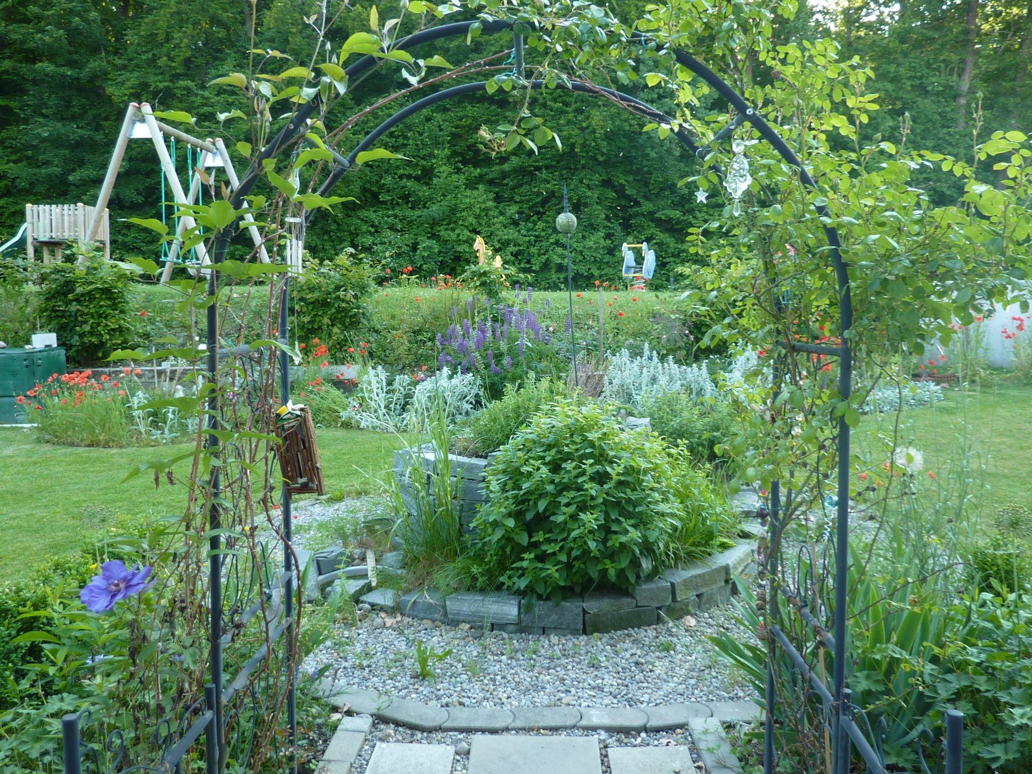 Rosenbogen Modern rosenbogen garten garden