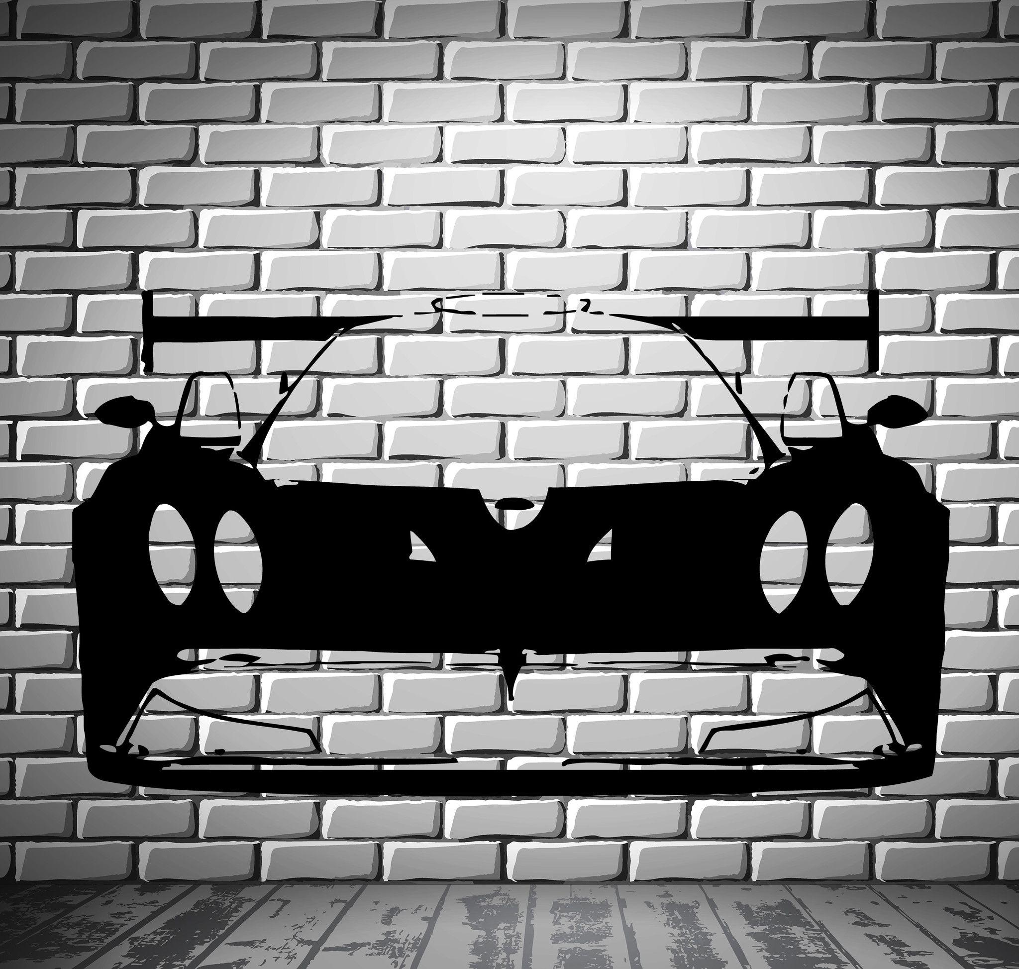 Pagani Zonda Roadster Super Cars Racing Wall Mural Vinyl Art