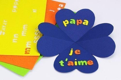 Carte Chemise Coeur Fete Des Peres Fete Des Peres Travaux