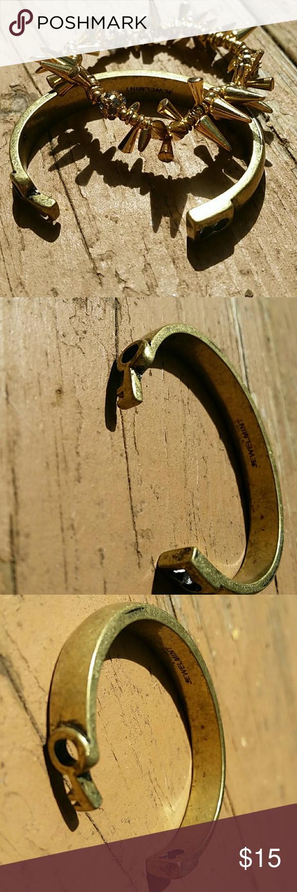 Lock and key cuff By jewelmint Jewelmint Jewelry Bracelets