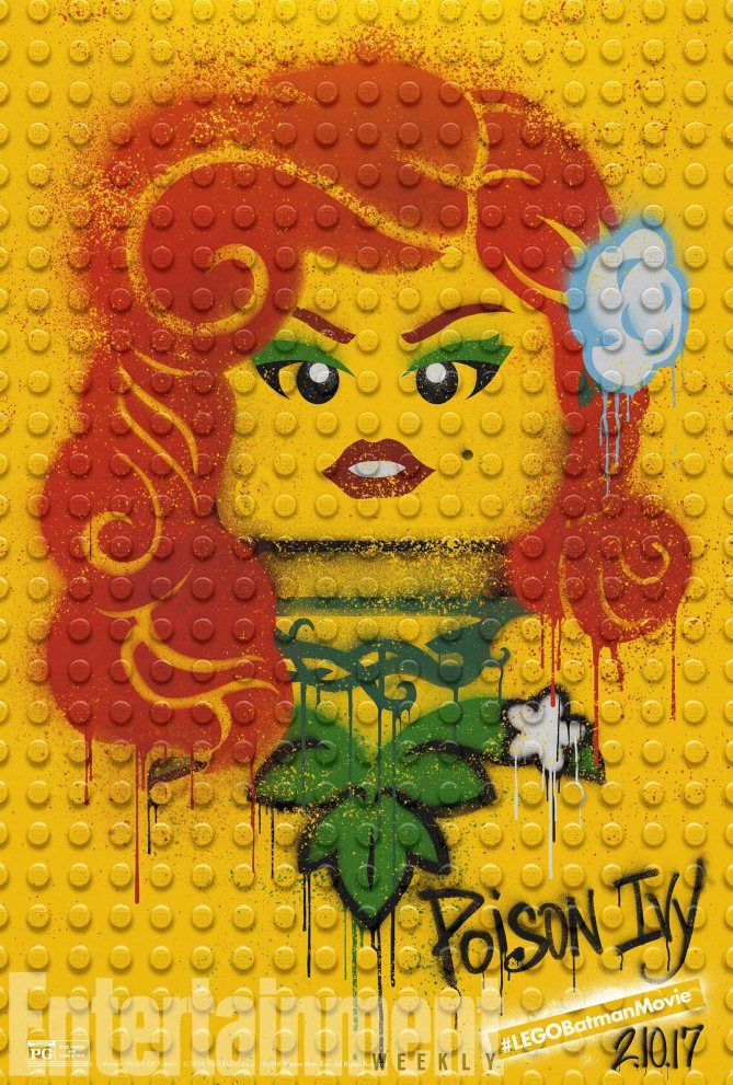 Poison Ivy from #LEGOBatmanMovie
