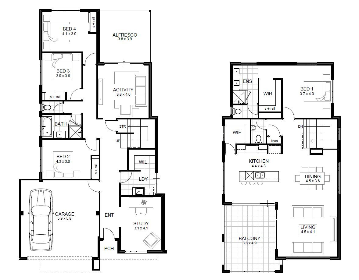Bedroom House Designs Perth Double Storey APG Homes HOUSE - 5 bedroom house designs perth