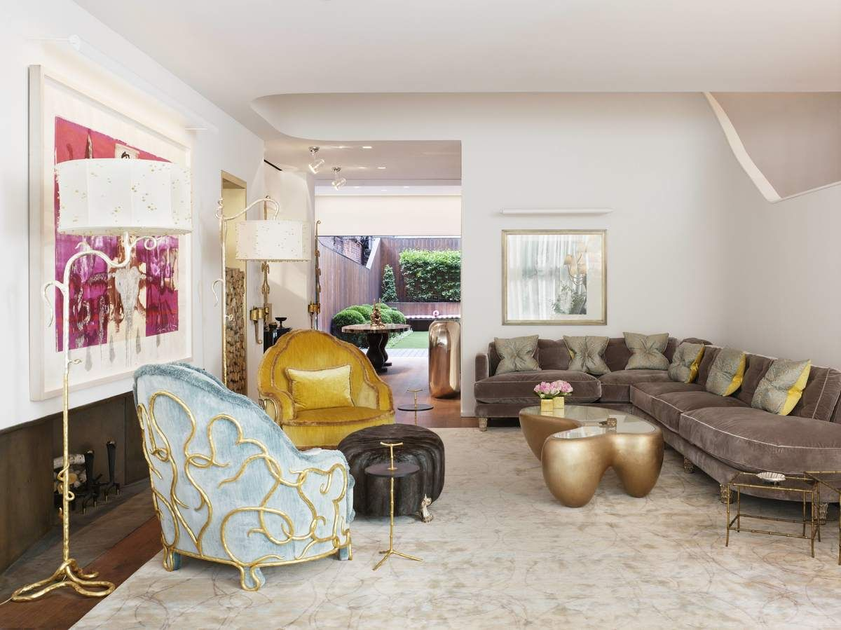 21 Incredible New York City Townhouses Living Room Designs