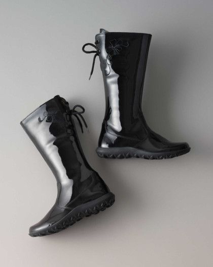 girls black patent boots | My Polyvore Finds | Pinterest | Boots ...