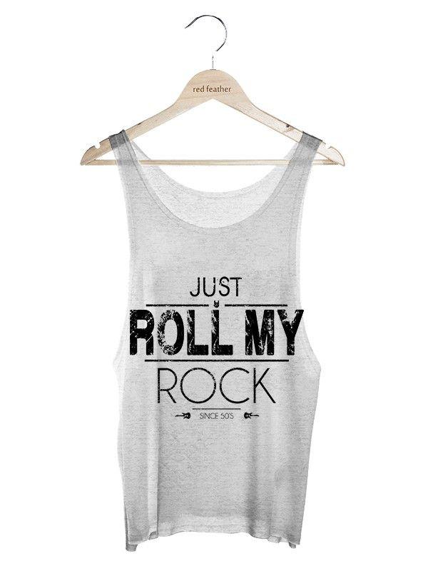 1c7dfd5d69407 Regata Feminina Roll my Rock