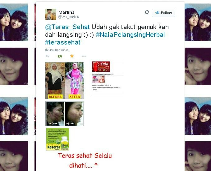 April Blast Naia on Twitter.. Yuk yg lain ikutan yuk.. Banyak hadiah menanti sahabat teras nih.. #terassehat #meme