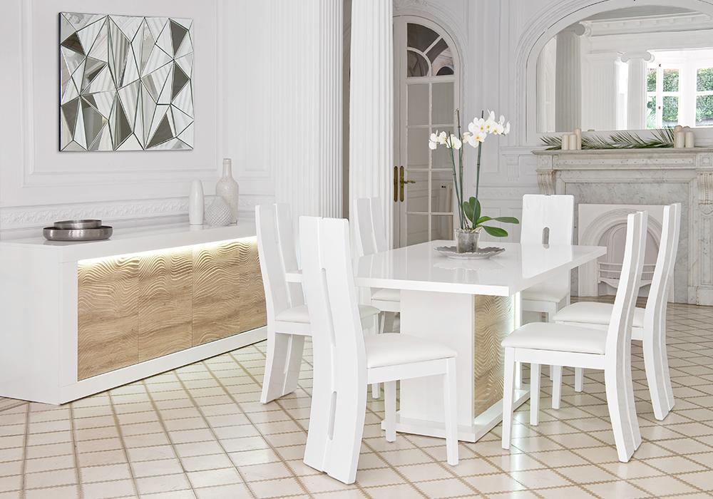 Salón DUNE de #Conforama. | Salones, Mesa y sillas y Muebles