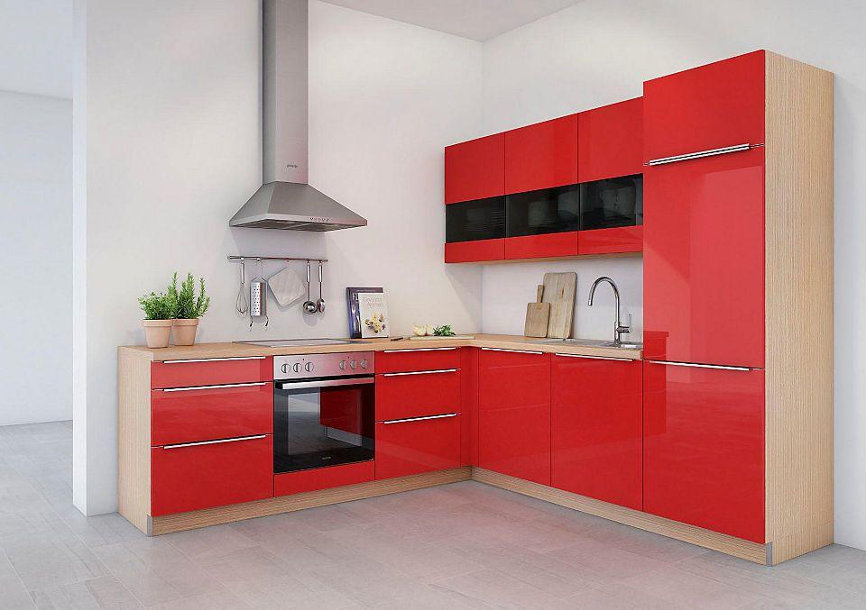 set one by Musterring Winkelküche mit E-Geräten »Lucca - esszimmer mobel musterring