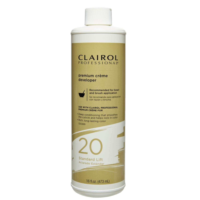 Clairol Professional Premium Creme 20, Volume Developer
