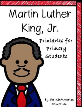 Martin Luther King Jr Printables For Primary Students Free