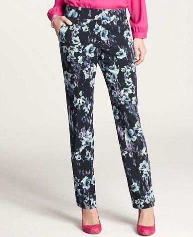Petite Moody Floral Pants