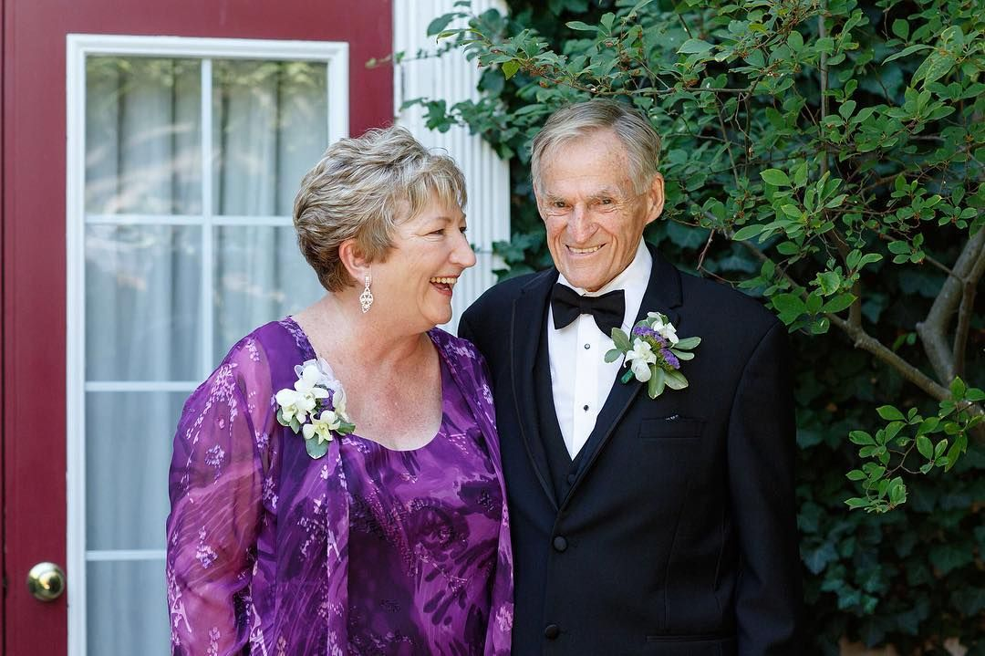 """The secret to a long marriage according to Jan and Wilf? Just two words --- """"yes dear"""".  Carrie and Casey's wedding slideshow will be posted tonight at 7pm on my Facebook Page! #weddingphotography #love #marriage #secrettohappiness #weddingday #makeportraits #family #parents"""