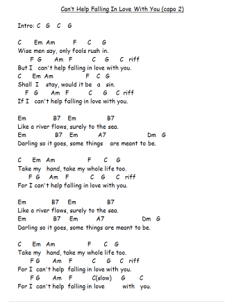 help i am falling lyrics