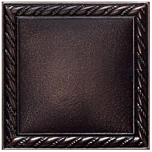 Ion Metals 4 1 4 X 4 1 4 Decorative Rope Accent Tile In Oil