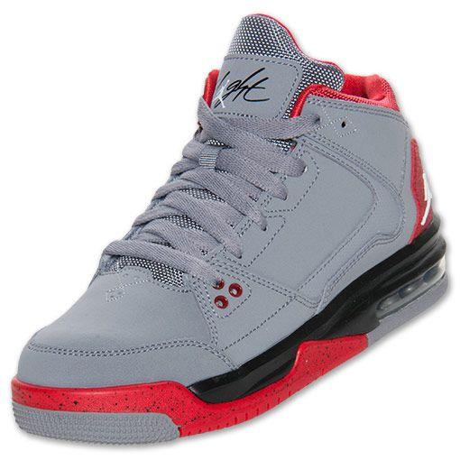 Boys' Grade School Jordan Flight Origin Basketball Shoes | Red ...