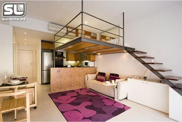 Studio Loft Apartment Suspended Bed Sure Loft Apartment