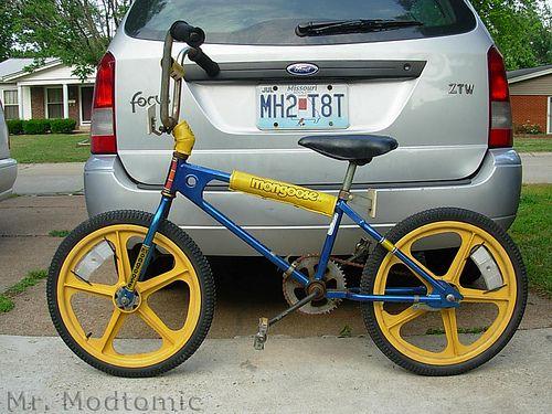 80s Yellow Bmx Really Old School Bmx Never Thought I D Find A 1980 Mongoose Bmx Mongoose Bmx Bmx Bikes Bmx Bicycle