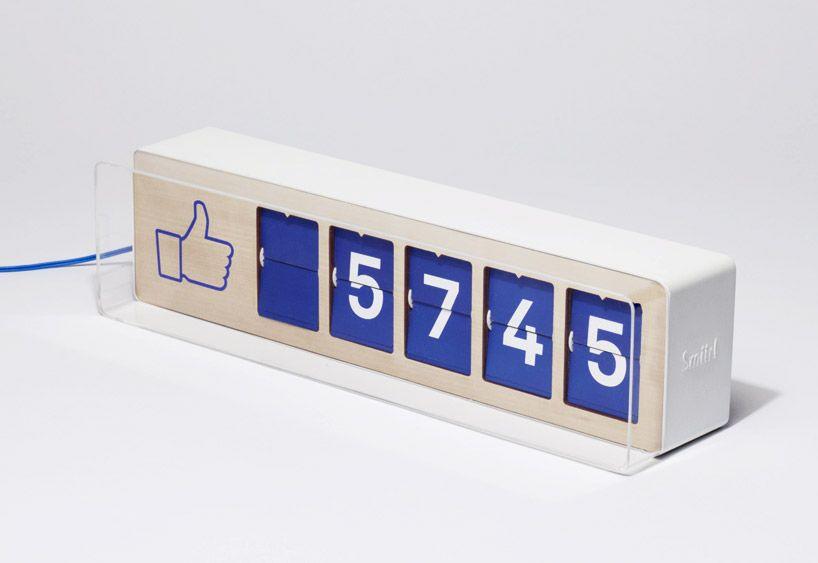 fliike real-time facebook like counter by smiirl - designer gerat smiirl facebook fans