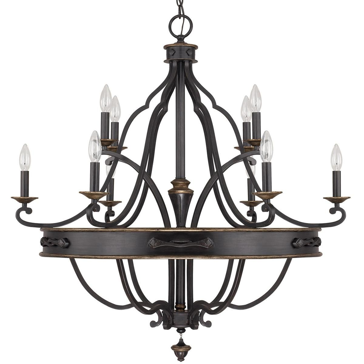 old world classic 10 arm chandelier shades of light 1099 bishop