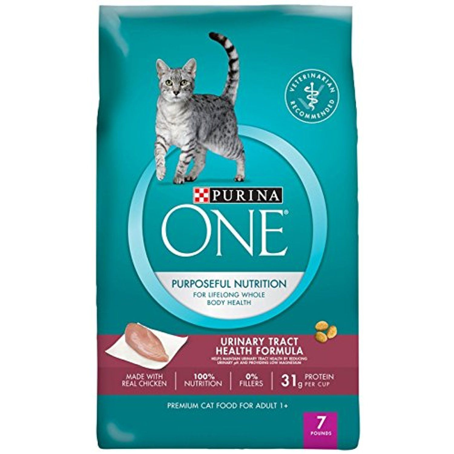 Purina ONE Purposeful Nutrition Dry Cat Food Adult
