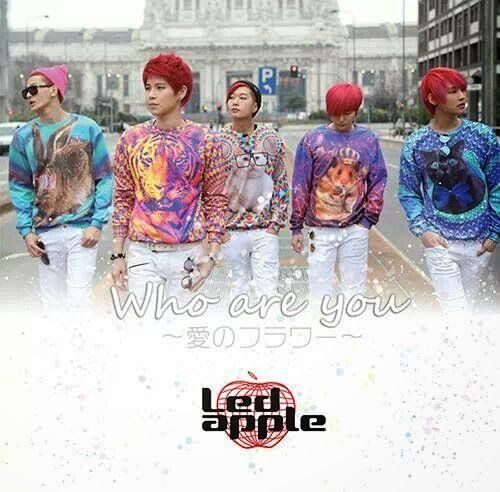 LEDApple release PV for Japanese single 'Who are you ~Ai no Flower~'