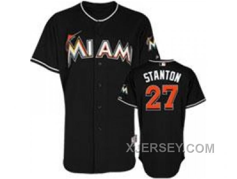 http://www.xjersey.com/new-arrival-mlb-florida-marlins-27-stanton-black.html NEW ARRIVAL MLB FLORIDA MARLINS #27 STANTON BLACK Only 32.17€ , Free Shipping!