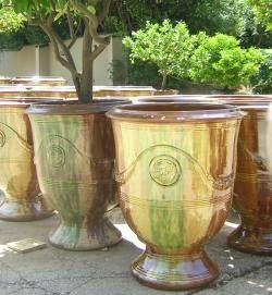 Des vases d 39 anduze poterie des enfants de boisset ma r - Poterie les enfants de boisset ...