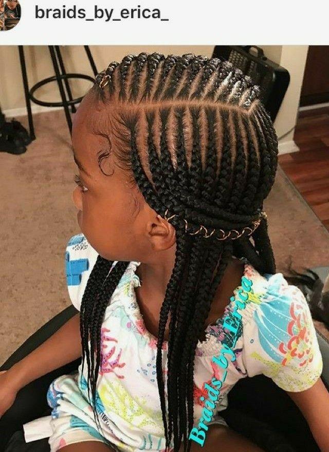 Ig Braids By Erica Black Kids Hairstyles Lil Girl Hairstyles Kids Braided Hairstyles
